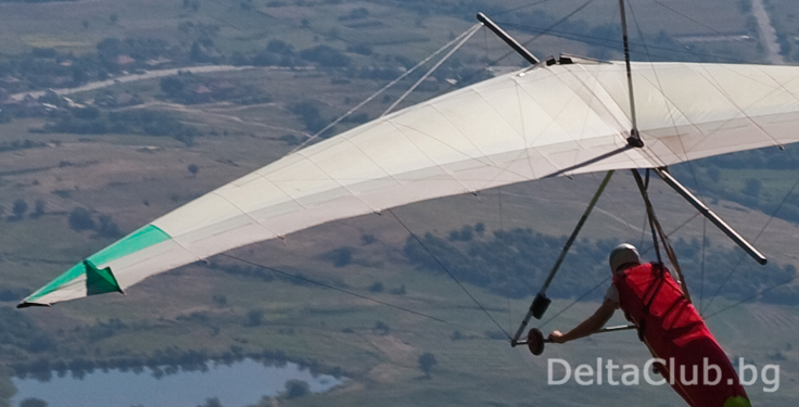 Hang gliding launch